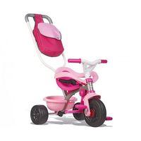 Rowerek trójkołowy Be move komfort różowy (3032167404039)