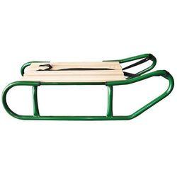 Axer Sport, Antoś, sanki metalowe, zielone
