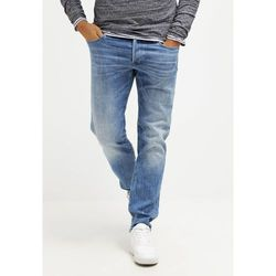 GStar 3301 LOW TAPERED Jeansy Zwężane aiden stretch denim, kolor niebieski