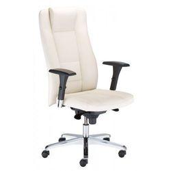 Fotel gabinetowy invitus r17m steel36 chrome - biurowy, krzesło obrotowe, biurowe marki Nowy styl