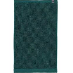 Ręcznik Connect Organic Uni ciemnozielony 30 x 50 cm