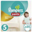 PAMPERS Premium Care Pants 5 JUNIOR 20szt. (12-18 kg) - pieluchomajtki