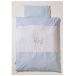 komplet pościeli 100/135 stars & friends kolor niebieski marki Easy baby