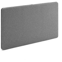Ścienny panel dźwiękochłonny Zip 1200x650 mm szary czarny suwak, 129562