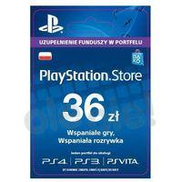 Sony PlayStation Network 36 zł [kod aktywacyjny] (0000006200061)
