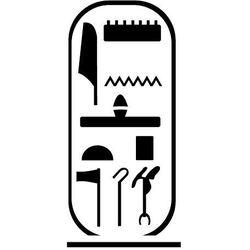 Szabloneria Szablon malarski z tworzywa, wielorazowy, wzór etniczny 23 - hieroglify