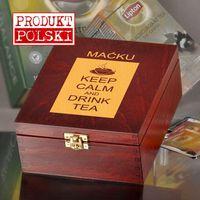Pudełko z herbatą lipton- keep calm marki Specially4u
