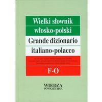 Wielki słownik włosko-polski T. 2 F-O. Grande dizionario italiano-polacco F-O, pozycja wydawnicza
