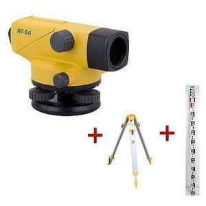 Niwelator optyczny Topcon AT-B4 + statyw + łata (niwelator)