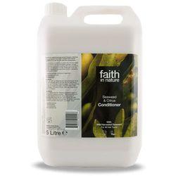 Organiczna odżywka do włosów z algami morskimi 5 litrów - Faith In Nature z kategorii Odżywianie włosów