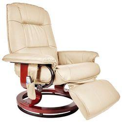 Regoline Fotel masujący wypoczynkowy z masażem + ogrzewanie