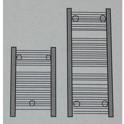Grzejnik łazienkowy ECO York - wykończenie proste, 400x800, owany