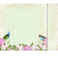 Magiczna kartka Ozdobny papier rajski ogród 30,5x30,5 cm - 01 - 01