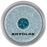 polyester glimmer medium (turquoise) średniej grubości sypki brokat - turquoise (2901) marki Kryolan