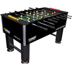 Axer Sport, Tores, stół do gry w piłkarzyki, czarny, kup u jednego z partnerów