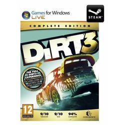 Dirt 3 kompletna edycja - klucz wyprodukowany przez Codemasters software