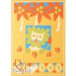 Dywanstyl.pl Dywan flash lion żółty 115x160 prostokąt