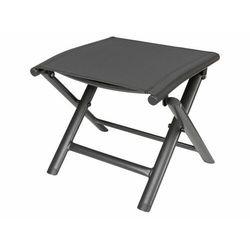 taboret stołek składany czarne aluminium marki Florabest®