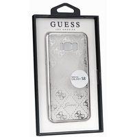 Guess  guhcs8tr4gsi samsung galaxy s8 (przeźroczysty-srebrny) - produkt w magazynie - szybka wysyłka!
