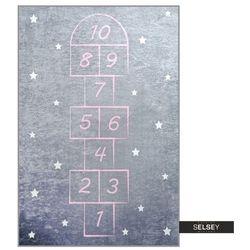 Selsey dywan do pokoju dziecięcego dinkley klasy szary 140x190 cm (5903025555317)