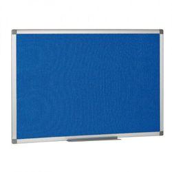 B2b partner Tablica tekstylna, niebieska, 120x900 mm