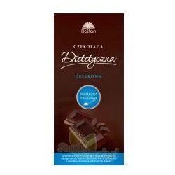 Czekolada deserowa słodzona fruktozą 50g, produkt z kategorii- Preparaty na poziom cukru