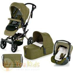 Od youkids crosswalk 3w1 wózek + gondola micro + fotelik koos s91 woods marki Jane