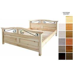 Frankhauer łóżko drewniane haga 140 x 200