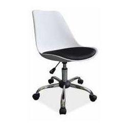 Fotel Q-777 biało-czarny - ZADZWOŃ I ZŁAP RABAT DO -10%! TELEFON: 601-892-200