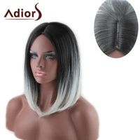 Medium capelss straight centre parting synthetic adiors wig, marki Rosegal