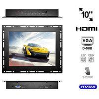 "NVOX OP1000VHT Monitor dotykowy open frame LCD 10"" cali LED VGA HDMI 12V 230V"