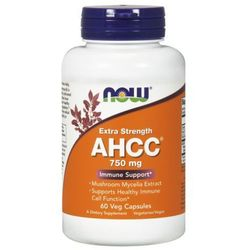 Now Foods, AHCC, Extra Strength, 750 mg, 60 Vcaps - sprawdź w wybranym sklepie