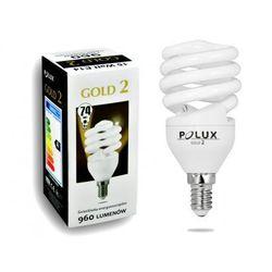 Świetlówka energooszczędna POLUX GOLD 2 mini 15W E14 (świetlówka)