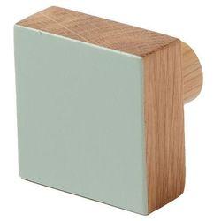 Cooke&lewis Wieszaczek drewniany nantua zielony