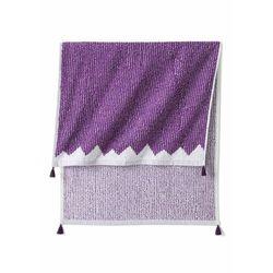 Ręczniki z frędzlami (2 szt.) lila marki Bonprix