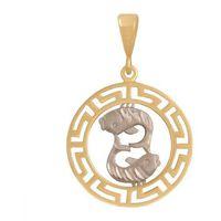 Złoty znak zodiaku Zoryb