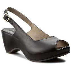 Sandały KHRIO - 171K2501LNQ Madrid Taupe, czarny w 7 rozmiarach