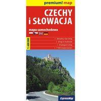 Czechy I Słowacja - Mapa Samochodowa 1:600 000, pozycja wydana w roku: 2010