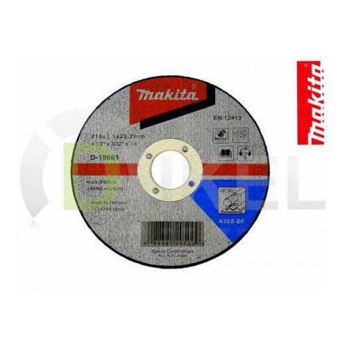 Tarcza tnąca do metalu 115x2,5 mm MAKITA - produkt z kategorii- tarcze do cięcia