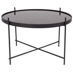 :: stolik cupid czarny xxl - wzór 2 marki Zuiver