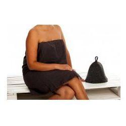 Kilt Ręcznik 70*140cm 100% Bawełna + Czapka gruba filcowa szara do sauny 6, 56F1-3742B