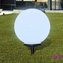 ogrodowa lampa solarna led 40cm, 1szt z uziemieniem spike marki Vidaxl