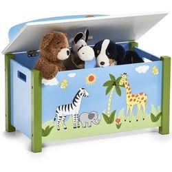 Skrzynia na zabawki SAFARI - siedzisko, 2w1, ZELLER (4003368134970)