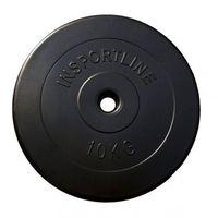 Insportline Obciążenie cementowe 10 kg  (8595153635541)