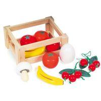Owoce w skrzyneczce - zabawka dla dzieci marki Small foot design