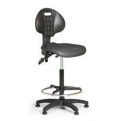 Krzesło pur, asynchroniczna mechanika, ślizgacze marki B2b partner