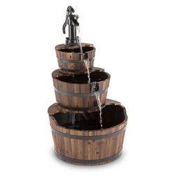 cascada 2g fontanna kaskadowa ogrodowa wodotrysk 12w 800l/h drewno marki Blumfeldt