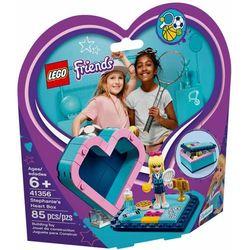 41356 PUDEŁKO W KSZTAŁCIE SERCA STEPHANIE (Stephanie's Heart Box) KLOCKI LEGO FRIENDS, 41356