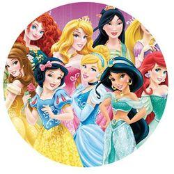 Smakop Dekoracyjny opłatek tortowy princess - księżniczki - 20 cm