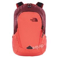 Plecak damski The North Face W Vault - Cayenne Red Emboss/Regal Red